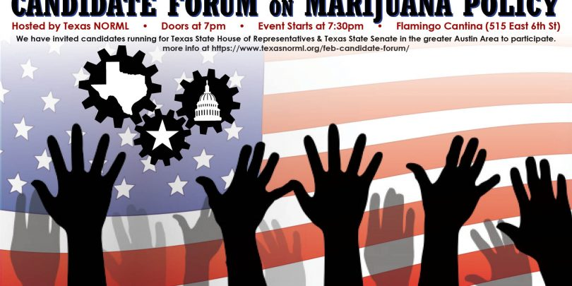 candidate forum graphic